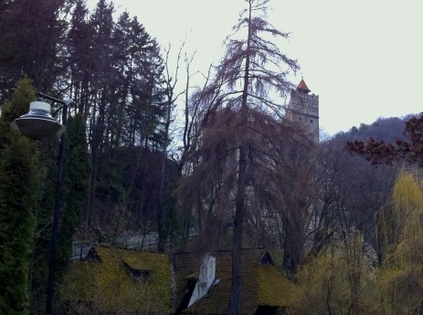 Going to Bran castle