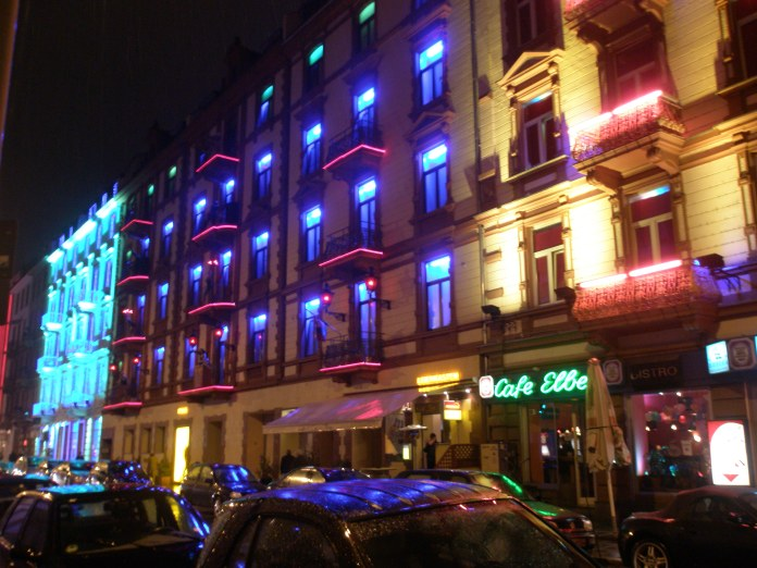 The Red Light District in Frankfurt