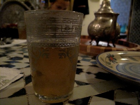 Mint Moroccan tea