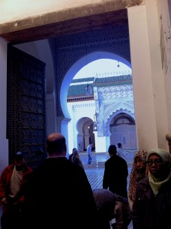 Views to the mosque, where non-muslims are not allowed