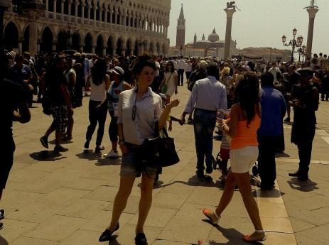 Me in Piazza San Marco in June