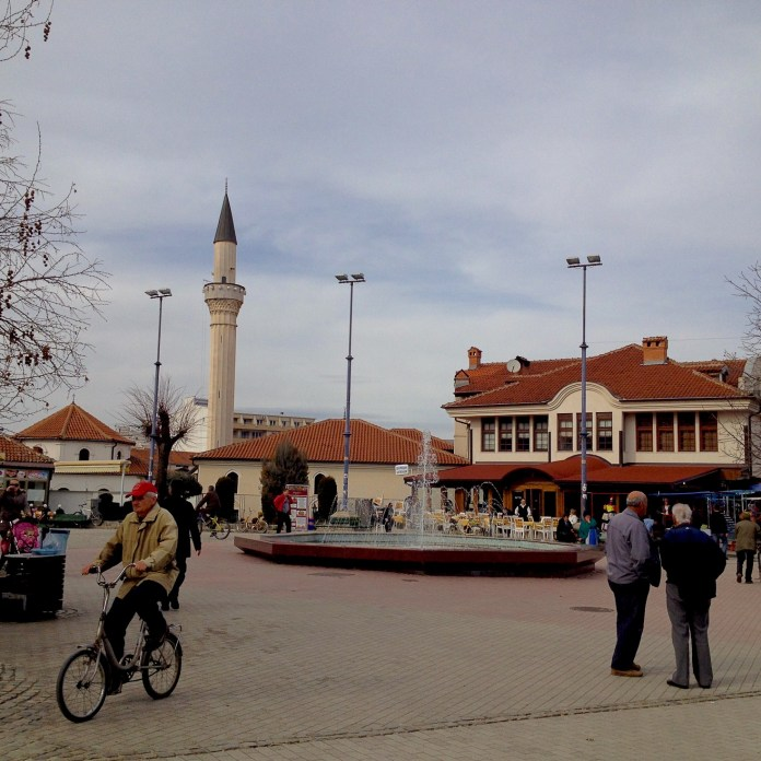 Square in Ohrid