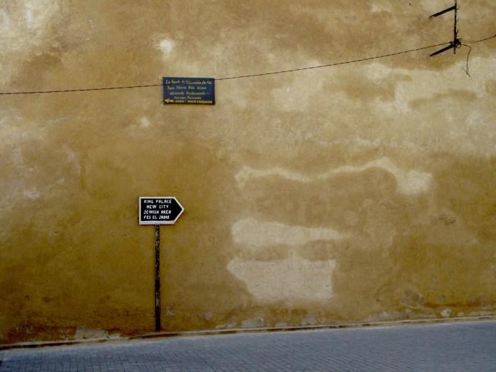 Jewish area in Fez, Morocco