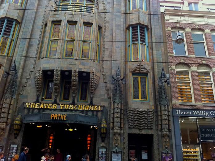 Pathé Tuschinski movie theater, Amsterdam