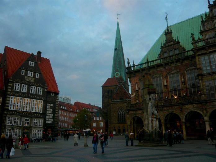 Sky over Bremen, Germany