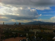 Sky over Florence, Italy
