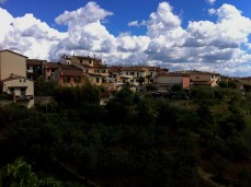 Sky over San Casciano in Val di Pesa, Tuscany, Italy