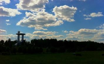 Sky over Molėtai, Lithuania