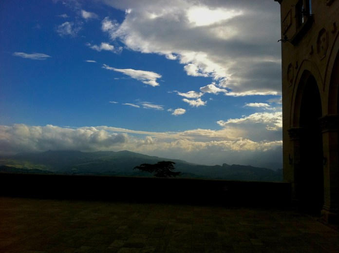 Sky over San Marino