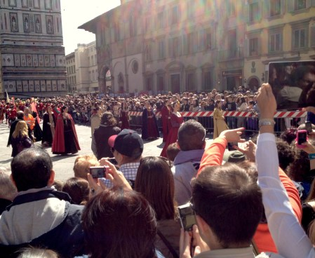 Easter in Florence