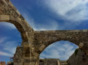Inside the Kos town castle