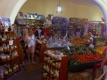Inside Agora, Kos town