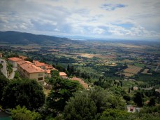 Cortona: Panoramic views