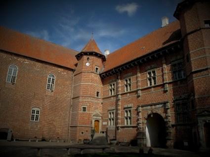 Voergård Castle in Denmark