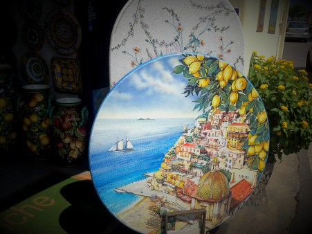 Lemons - the important part of souvenirs too. Positano