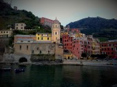 Colourful houses in Vernazza, Cinque Terre