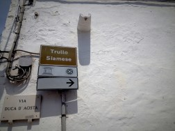 Directions to the trullo Siamese, one of the oldest trulli house in Alberobello, which may be built around 15th century