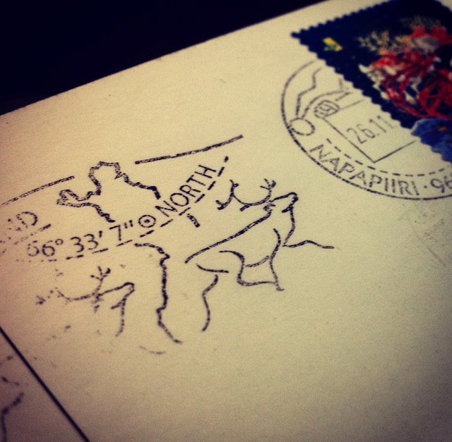 Sending a letter from Santa Claus Post Office gives not only very specific emotions, but unique North Pole postmark too