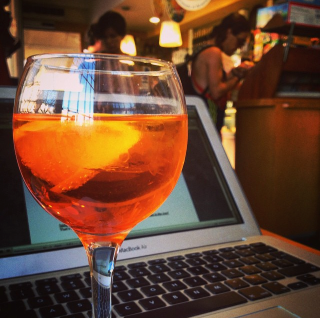 "Portable office and ""Spritz"""