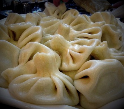 Khinkali – one more accessory in Georgian cuisine. These traditional dumplings, being made with various stuffings, are really popular in there.