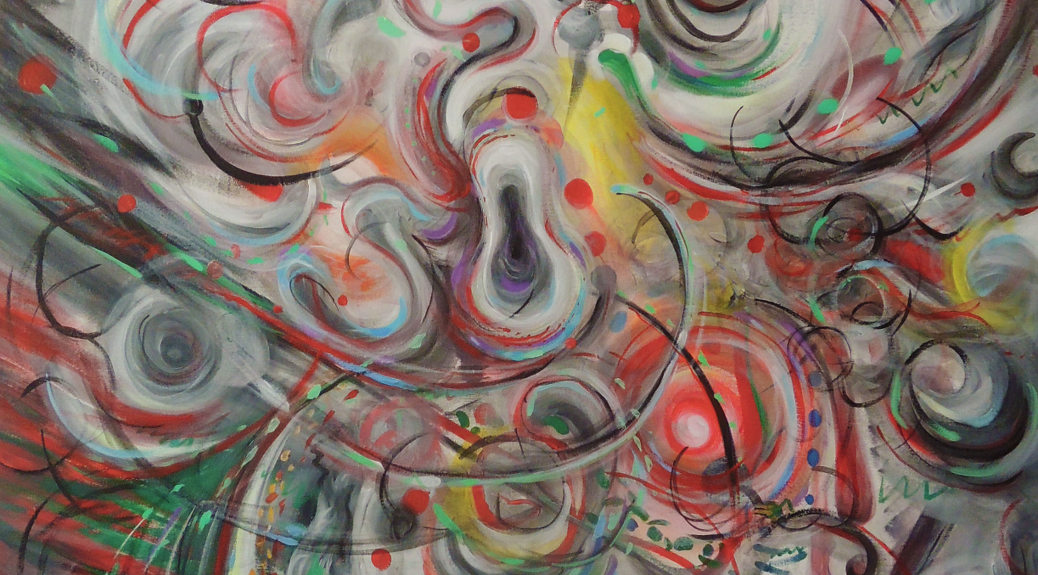 In the Flow - June 2015 Exhibition - Being Confused
