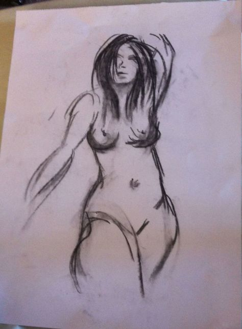 Cosmopolitan: Life Drawing Model - Rosie