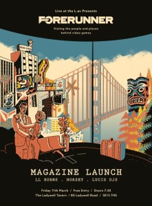 Forerunner Magazine Launch Poster - Friday 11th March 2016