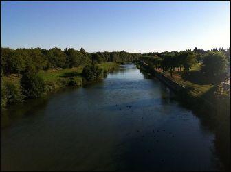 El Aude desde el puente