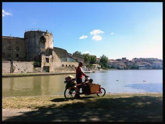 Saliendo de Castelnaudary