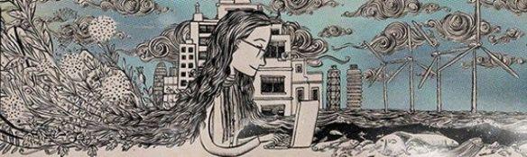 La ilustración para La ecocosmopolita de Ramón París