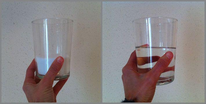 bicarbonato de sodio y vinagre blanco, desatascador natural