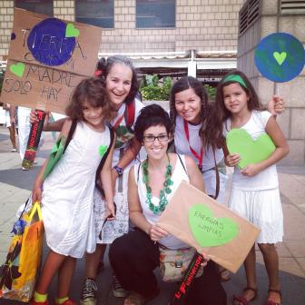 Equipo de apoyo de lujo para la Marcha Ciudadana Global por el clima
