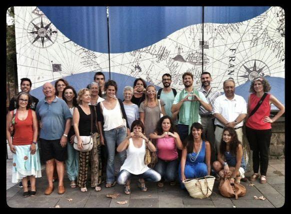 Voluntarios-Marcha-Global-Medioambiente-Barcelona