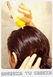 Así me lavo el pelo con bicarbonato y vinagre