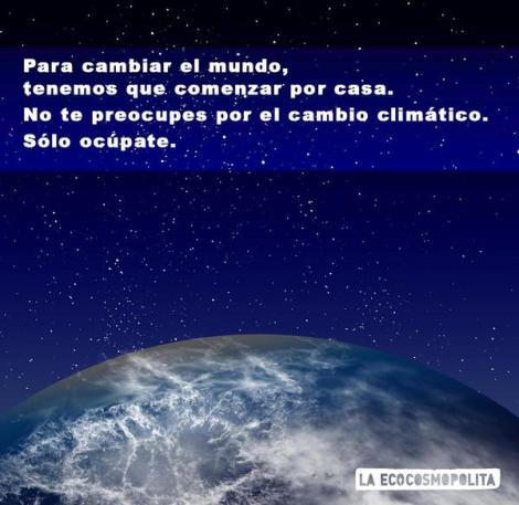 Ocupate-del-cambio-climático