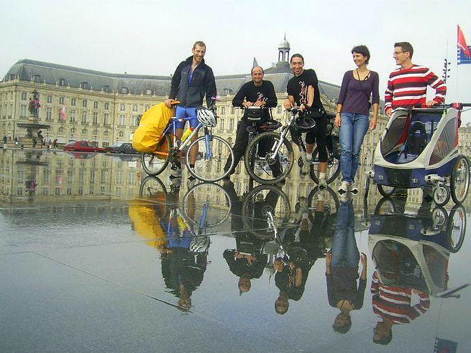 Marcha a Copenhague en bici