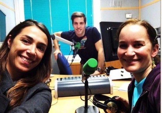 Yve Ramírez hablando de FICMA en Nits de Radio- Farandularte. Con Bárbara Montaner y Marc Mayoles