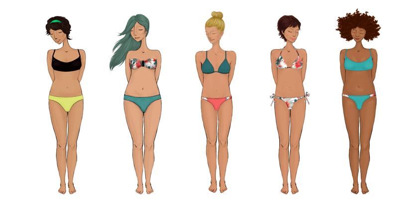 Cabuya surf bikinis sostenibles. Marca de españa