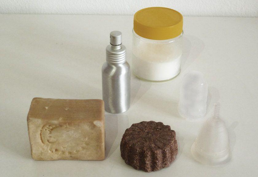 Cosas del baño residio cero en casa de Esther Peñarrubia