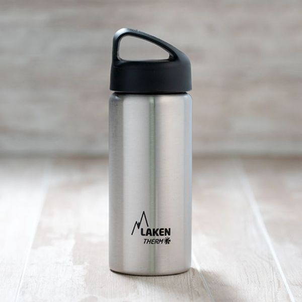 Termo de acero inoxidable Laken de boca ancha de 500 ML