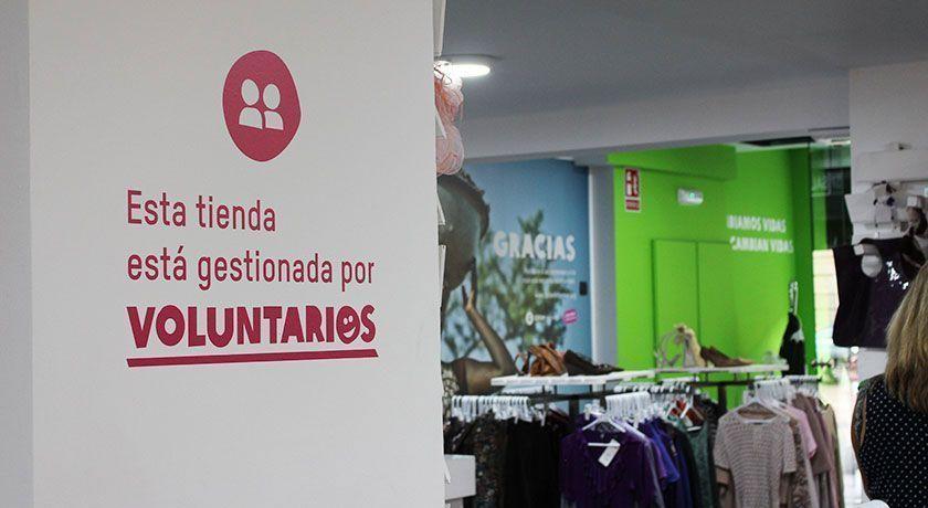 Lsa tiendas de Segunda oportunidad de Oxfam Intermon están gestionadas por voluntarios