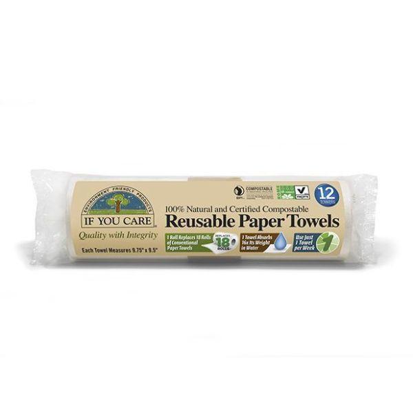 Papel absorbente reutilizable