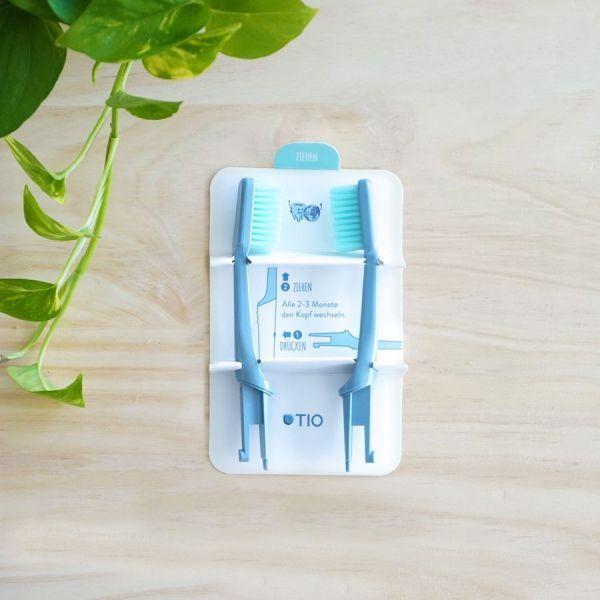 cabeza reemplazable compostable cepillo dental suave