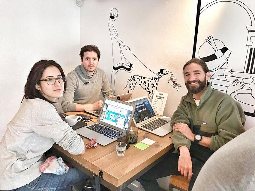 Equipo de Go zero waste app