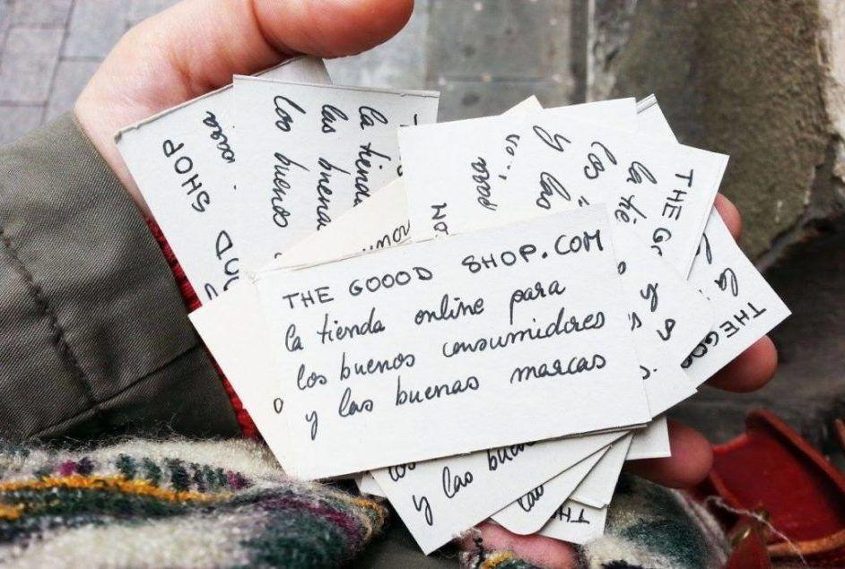 The Goood Shop. Entrevista a Carmela Serantes