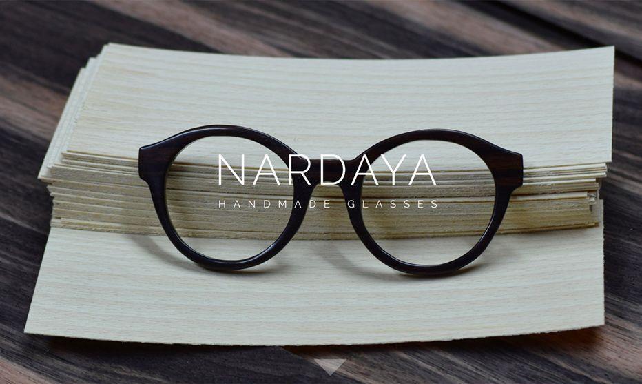 Nardaya gafas de madera. Biocultura 2019