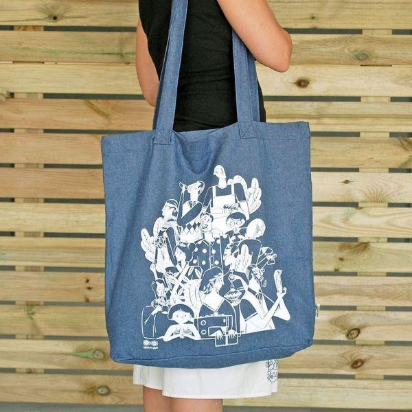 Tote Bag EcoReciclada XL y bandolera