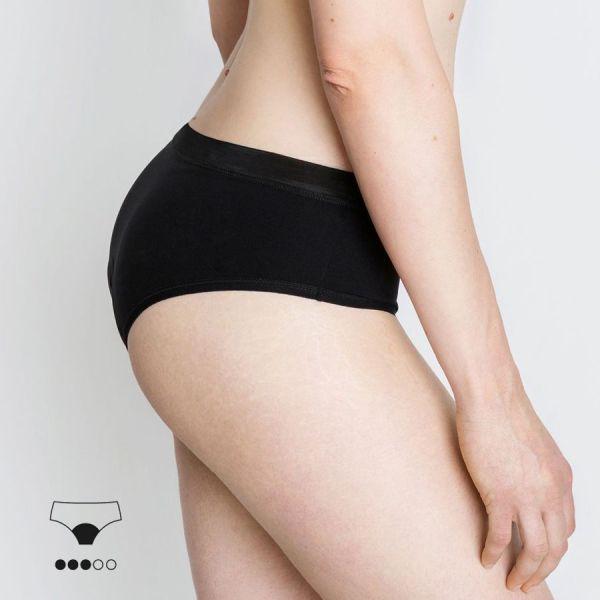 braga menstrual clásica negra