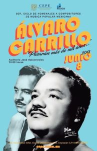 Videos: Recuerdan en la UNAM a uno de los mejores compositores mexicanos: Álvaro Carrillo