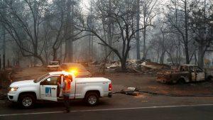 Videos: Más de mil desaparecidos y  71 fallecidos por incendios